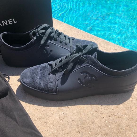 Flash Sale Mens Chanel Cc Sneaker